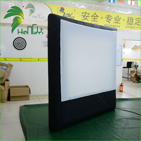 Outdoor Air Movie Screen Tent, Inflatable Projector Sreeens, Inflatable Movie Screen for Sale
