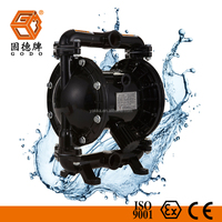 acid chemical transfer air operated double diaphragm pump