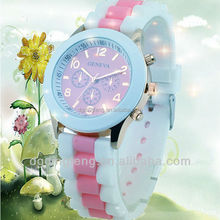 multi colors for chosse ,best selling product 2012, fashion women silicon watch