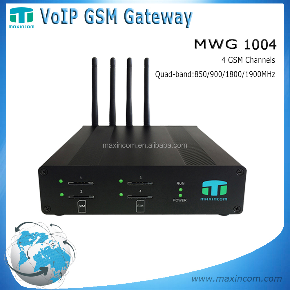 phone central/voice home gateway/gsm sms sending device