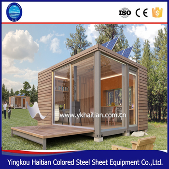 Economic villa modular wooden house prefab home finland log cabin prefabricated house luxury container wood house