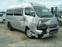 Nissan CARAVAN COACH 2004 Damaged Used car