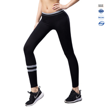 Ladies seamless new design black fitnee gym pants trousers