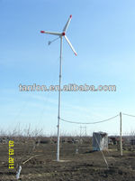 1KW 2KW Small Wind Turbine For Rooftop,Off Grid Battery Bank System Home Use,Light,Low Noise,Easy Installtion