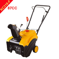 Mini petrol Snow blower / mini snow thrower(KC318-F)