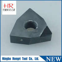 For processing various hard material polycrystalline diamond inserts