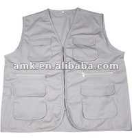 reliable manufacturer Summer Working Fishing Vest for outdoor camping travel
