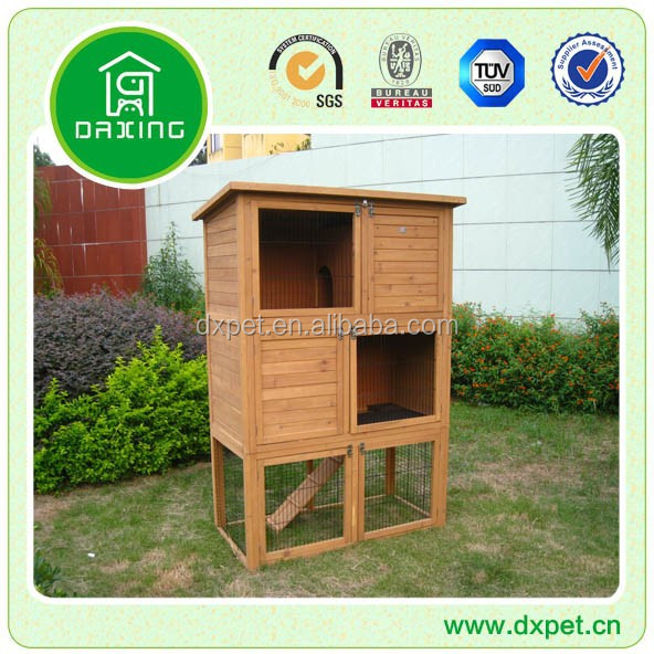 Cheap 3 Story Rabbit Hutches DXR026