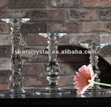 made in china cheap long stemmed glass candle holders(R-2286