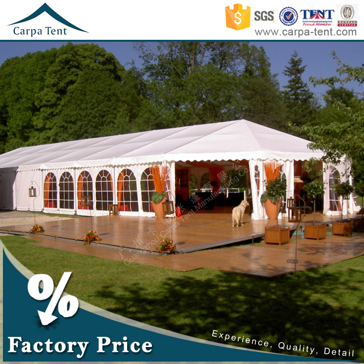 10m x 18m Heavy Duty Luxury Wedding Shelter Tents Exported To Arabic