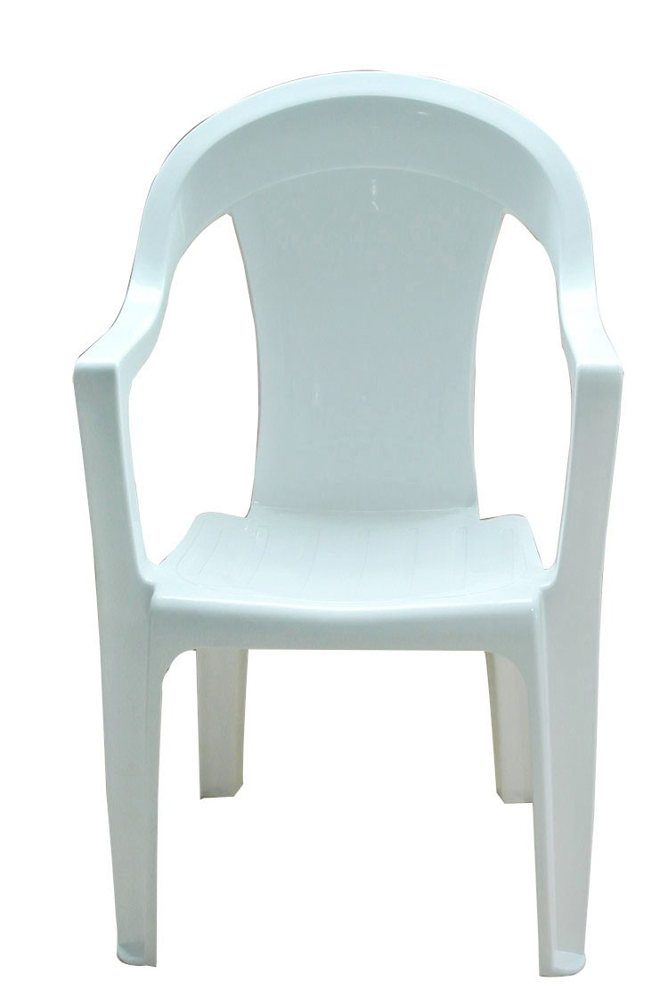 2012 Red tub Plastic dinning room chair