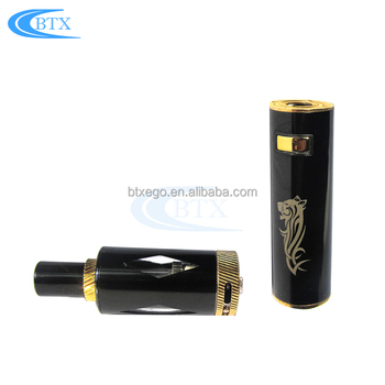 2018 new products 1100mah battery e cigarette atomizer Vape Pen E Cigarette kit