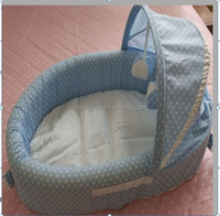 New Baby basket pet basket with easy foldable funny toyes inside