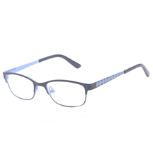 Semi-rimless Metal Frames for Children with Beautiful Printing