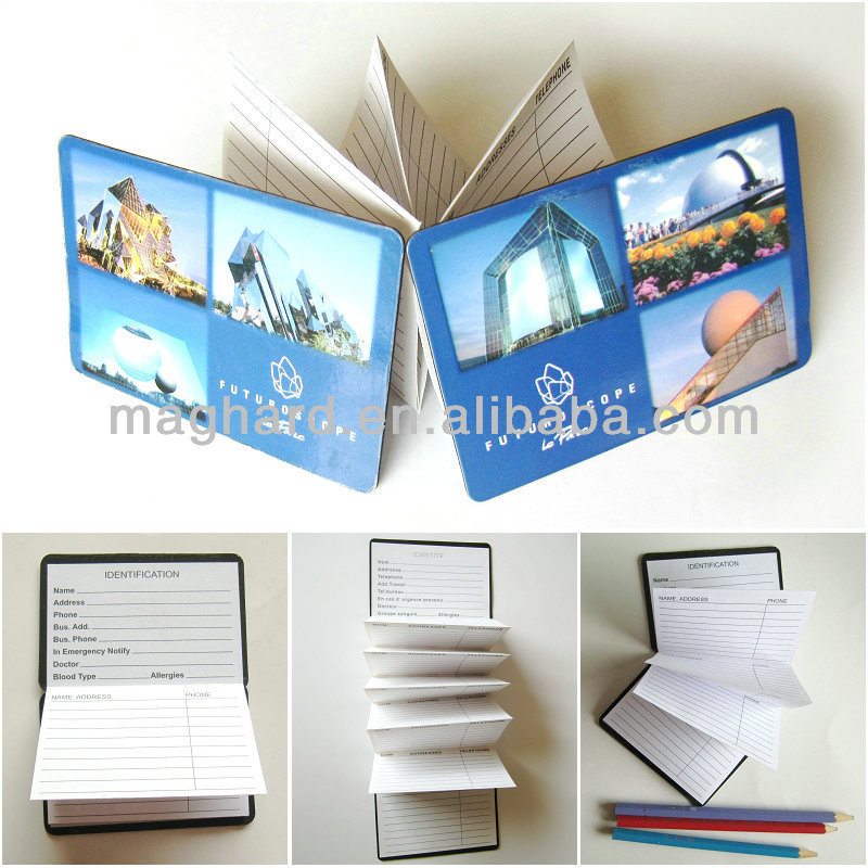 magnetic address and telephone number book