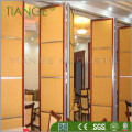 Soundproof movable acoustic partition hot sale mobile partition multi-function hall movable partition factory