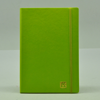 promotional leather notebooks soft cover with emboss logo