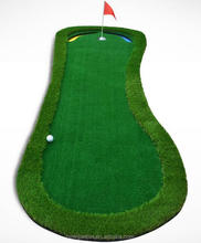 High quality green used indoor golf putting carpet golf training mat