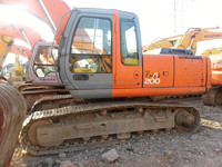 Hitachi used crawler excavator ZX200 for sale