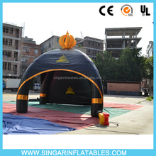 Hot inflatable spider tent with crown,bubble tree tent