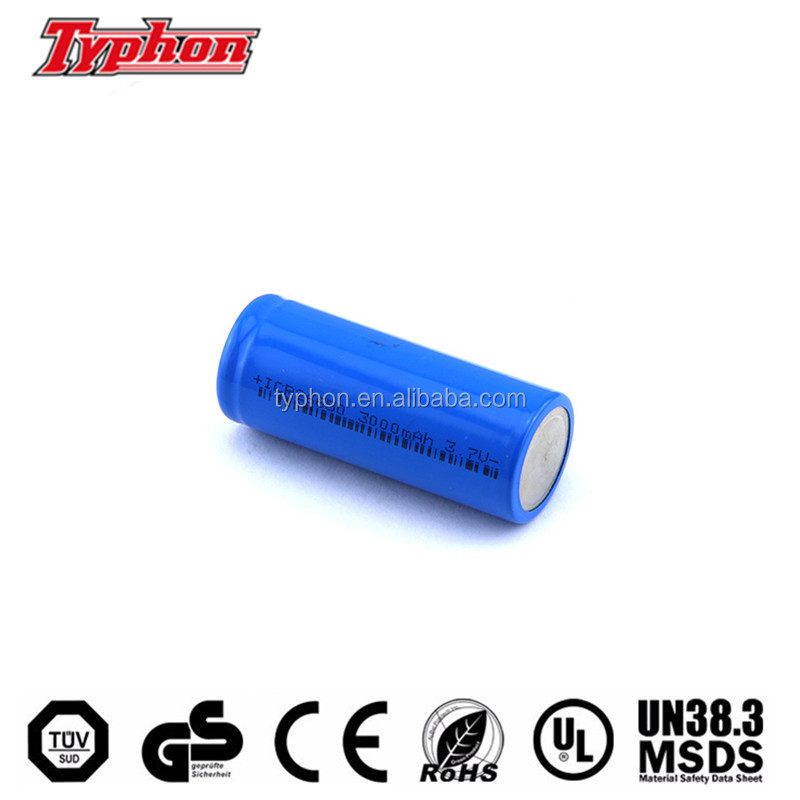 3.7v cylinder lithium ion battery 26650 li-ion batteries 3.7V 3500mAh high drain for e-cigs electronic bike