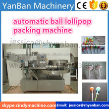 YB-120 automatic Fruit Flavor lollipop packing /wrapping machine