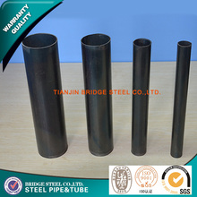 Advanced Construction Material low carbon round steel pipe standard length