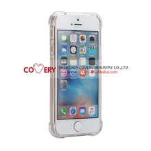 2016 newest TPU+PC clear protective cover case for iPhone 5 5s, case for iphone 5/5s/se