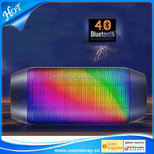Best-selling products Bulk buy from china colorful light bluetooth speaker portable wireless car subwoofer