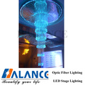 hotel lighting led fiber optic chandelier