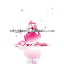 20ml, 25ml,100ml apple shape empty perfume glass bottle
