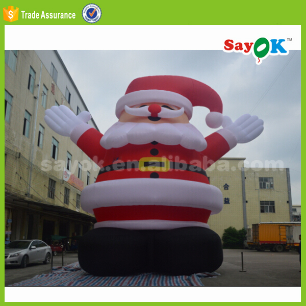 giant 25ft christmas inflatable santa claus party decorations manufacturer