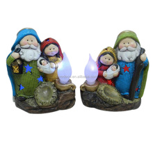 nativity set led candle for decoration