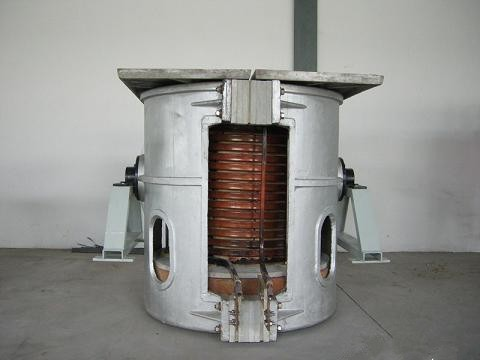 250kg per batch Electric Melting Furnace for Iron Ingot Making
