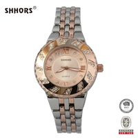 SHHORS Elegant Nice Ladies Japan Quartz Picture of Fashion Girl Watch