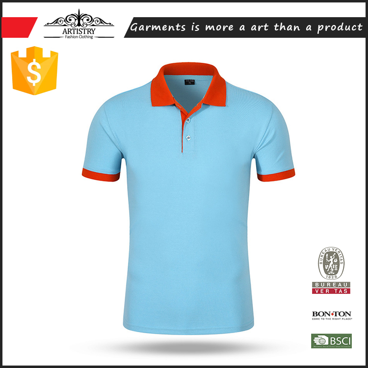 China factory high quality cotton polo shirt From supplier