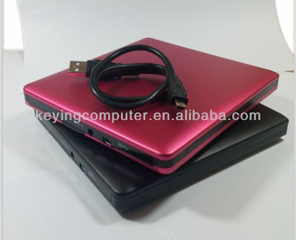 USB External Slot in DVD CD RW Drive Burner internal tray loading sata dvd burner
