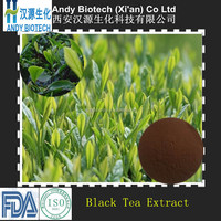 Low Price Natural Grade Supplier Black Tea Extract Powder