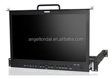 "17.3"" full HD widescreen field monitor with Waveform, Histogram, Audio Level Meter, etc."