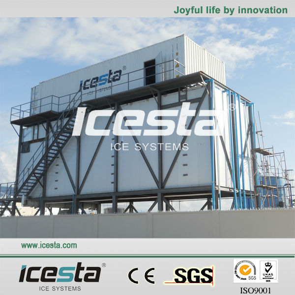 Concrete Cooling Systems Ice Making Plants