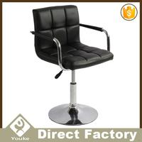 Hot selling decorative leather seats swivel chairs living room furniture
