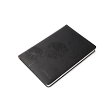Best Selling Black Leather Cover Printing Custom Logo Diary Notepad for Office and School