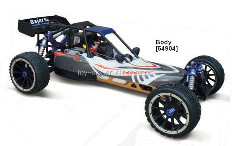 2018 new product 2.4G AWD 1:5 large Scale Gasoline RC Desert Bajer HSP nitro buggy