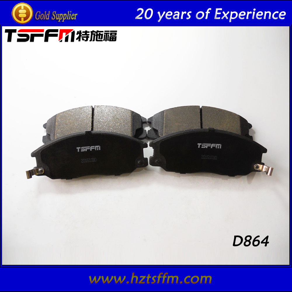 Japanese car high-quality asbestos free brake pad