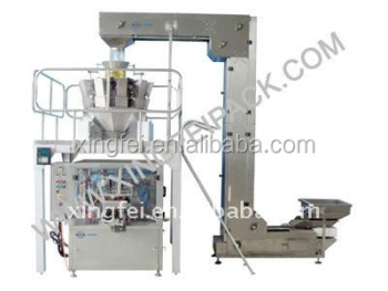 Automatic dry fruit packaging machine
