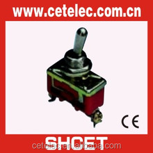 CE spring return off on on toggle switch