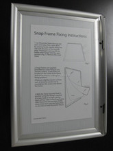 Chinese factory aluminum wall mounted picture frame