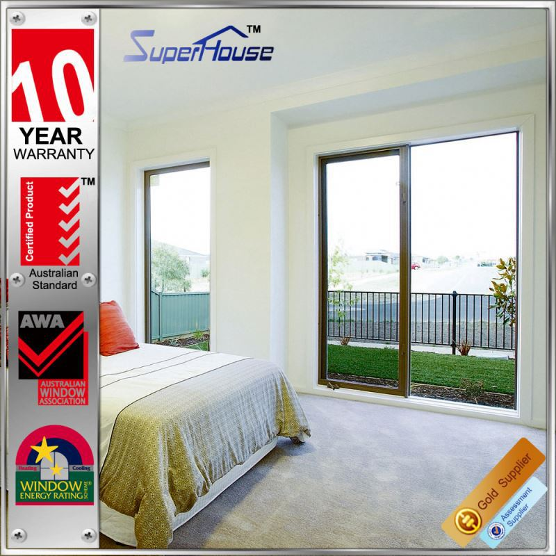Australian standard heat insulation french stock doors interior