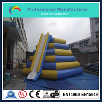 lake inflatable water slides