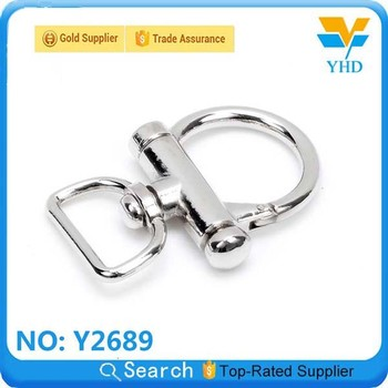 Hot sale zinc alloy metal snap hook for bags wholesale